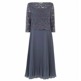 Oasis Lace Top Midi Dress*