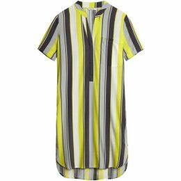 Sandwich Yellow And Grey Stripe Tunic