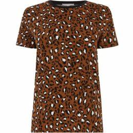 Warehouse Leopard Print T-Shirt