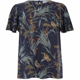Warehouse Bird Print Top