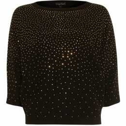 Phase Eight Becca Scattered Stud Knit Top