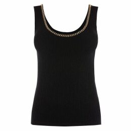 Karen Millen Chain Trim Tank Top