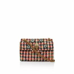 Kurt Geiger London Fabric Mini Kensington X Cross Body Bags