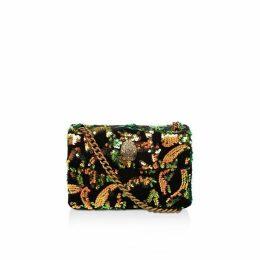 Kurt Geiger London Velvet Mini Kensington X Cross Body Bags