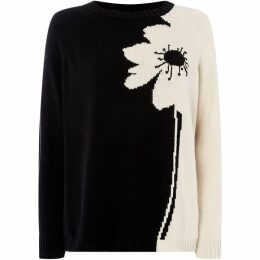 Max Mara Weekend Simona crew neck floral sweater
