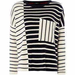 Max Mara Weekend Mario loose fit striped sweater