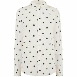 Warehouse Spot Print Shirt