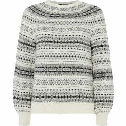 Lauren by Ralph Lauren Philantha patterned sweater