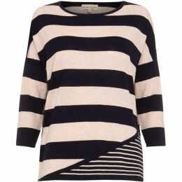 Phase Eight Devonna Mix Stripe Knit Top