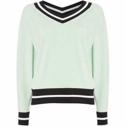 Sportmax Code Vertice v neck sweater