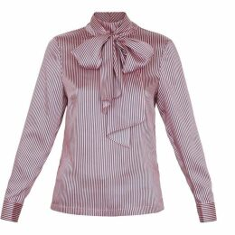 Ted Baker Striped Large Neck Tie Top