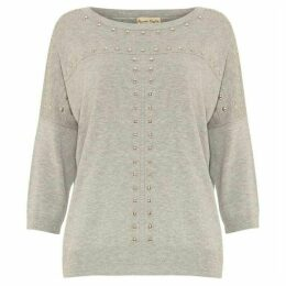Phase Eight Serena Stud Seam Knit Top