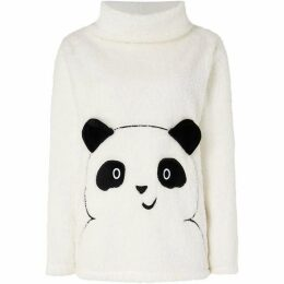 Therapy London Panda shimmer snuggle top