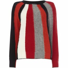 Marella Jerzun multi stripe sweater