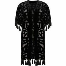 Biba Saska Burnout Tassle Kimono