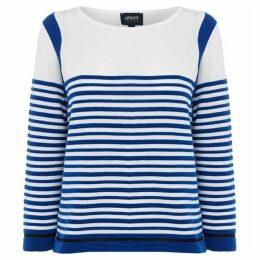 Armani Jeans Long sleeve gradual stripe top