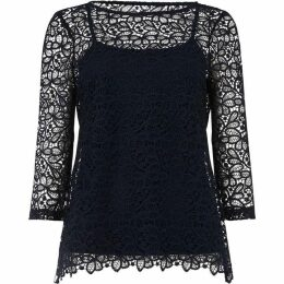 Phase Eight Odette Lace Top
