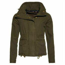 Superdry Rookie Field Crop Parka Jacket