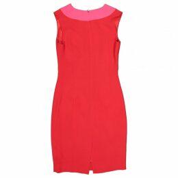 Silk mid-length dress