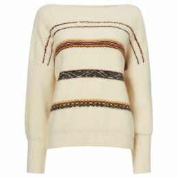 Sessun Metalic round neck jacquard sweater