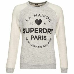 Superdry Applique Slim Crew Top
