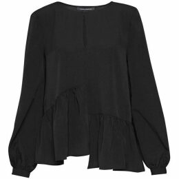 French Connection Lisette Lightweight Crepe Top