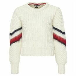 Tommy Hilfiger Amalie Cable Crew-Neck Sweater