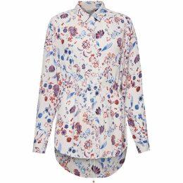 Great Plains Faeryday Floral Elastic Waist Shirt