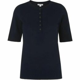 Whistles Button Front Henley Tee