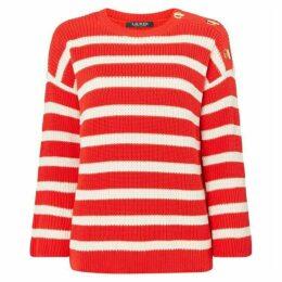 Lauren Majesky three quarter sleeve sweater