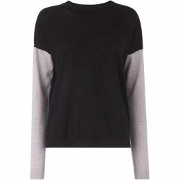 Whistles Colour Block Sleeve Sweater