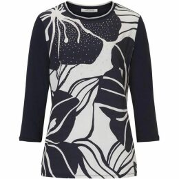 Betty Barclay Embellished Print Top
