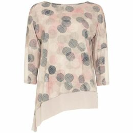 Phase Eight Ediline Etched Spot Print Top