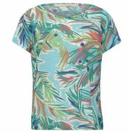 Nougat Palm Scoop T/Shirt