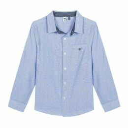 3 Pommes Kid Boy Marine Blue Shirt