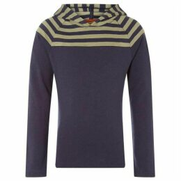 Rock and Wilde JOURY TS LS HEAVYWEIGHT STRIPED HOODIE