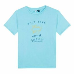 3 Pommes Baby Boy Turquoise Tee-Shirt