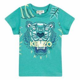Kenzo Baby Boy Tee-Shirt Mid Green