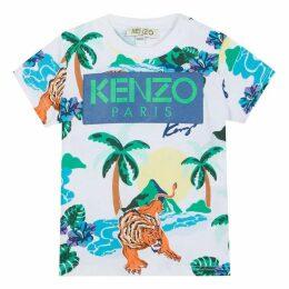 Kenzo Baby Boy Tee-Shirt White