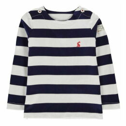 Joules Long Sleeve Striped T Shirt
