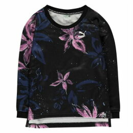 Puma AOP Logo Crew Sweater