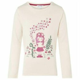 Rose and Wilde Winnie Girl With Wand Print Long Sleeve T Shirt