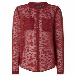 Label Lab Ali burnout blouse