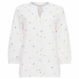 Phase Eight Dragonflly Embroidered Blouse