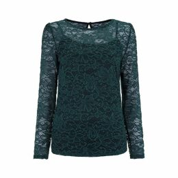 Havren Jessica Lace Blouse With Cami
