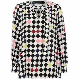 Sportmax Ora neck tie blouse