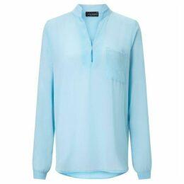 James Lakeland Long Sleeve Pockets Blouse