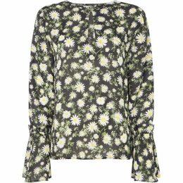Twist and Tango Tonia daisy tie sleeve blouse
