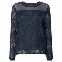 Second Female Lolila Long Sleeve Textured Sheer Blouse