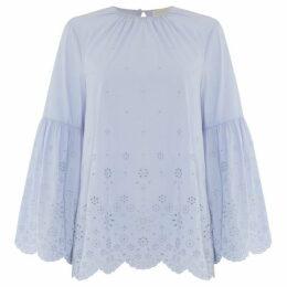 Michael Kors Long sleeve sleeve detail blouse